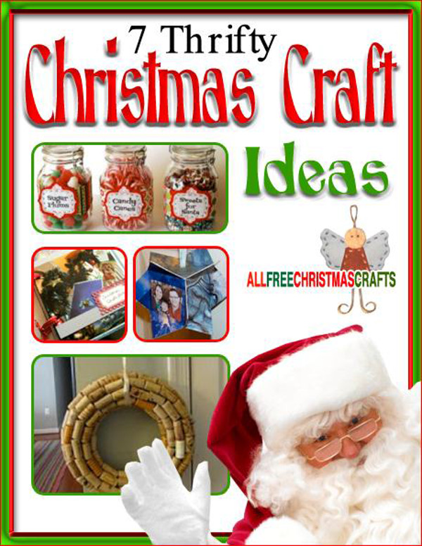 Arts And Crafts Ideas For Christmas Gifts Part - 26: 7 Thrifty Christmas Craft Ideas