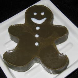 Gingerbread Man Christmas Soap