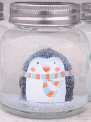 Winter Wonderland Snow Globe Allfreechristmascrafts Com