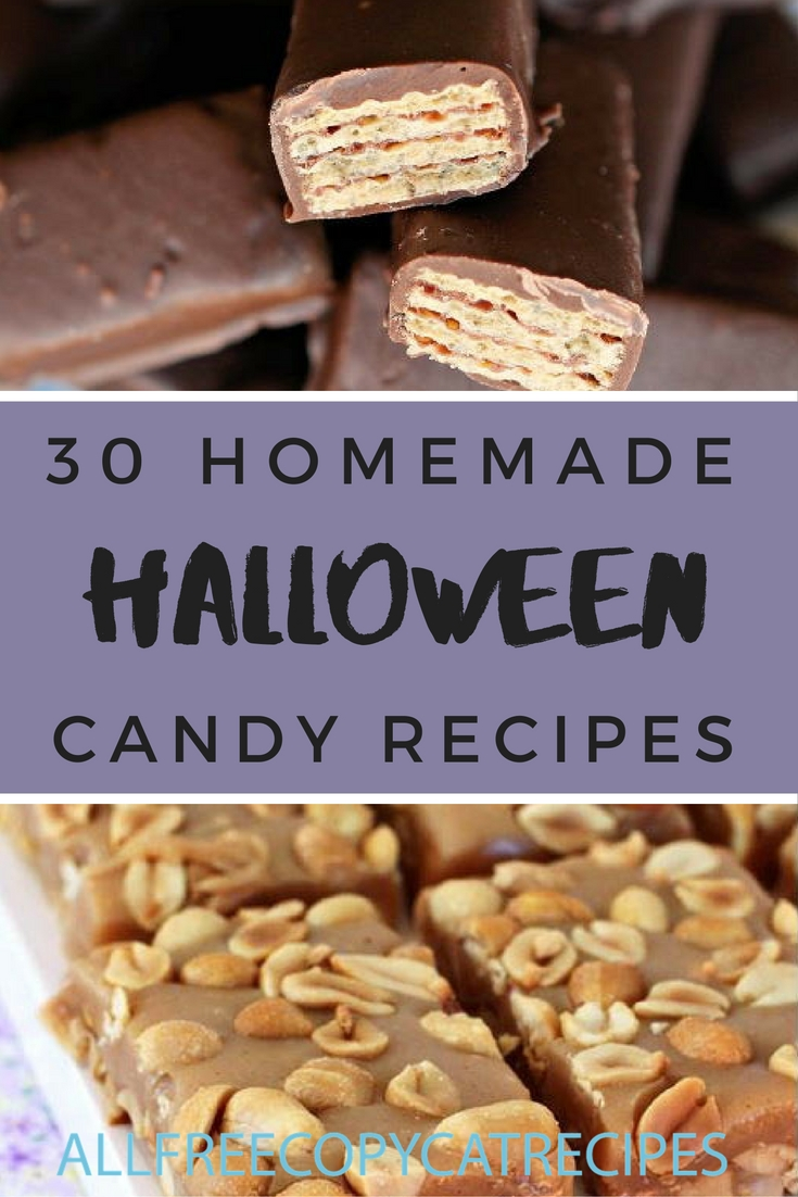 30 Homemade Halloween Candy Recipes