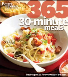 Better Homes and Gardens 365 30-Minute Meals Cookbook Review