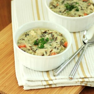 Copycat Panera Cream of Chicken and Wild Rice
