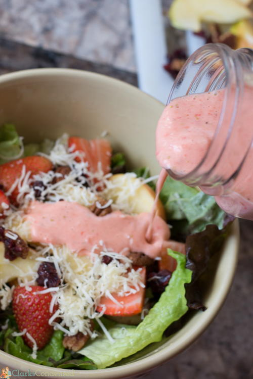Copycat Zupas Strawberry Harvest Chicken Salad