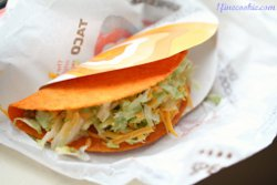Homemade Doritos Locos Taco from Taco Bell