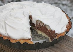 Copycat Baker's Square French Silk Pie