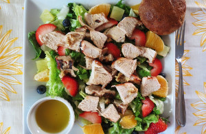 Copycat Panera Strawberry Poppy Seed Salad
