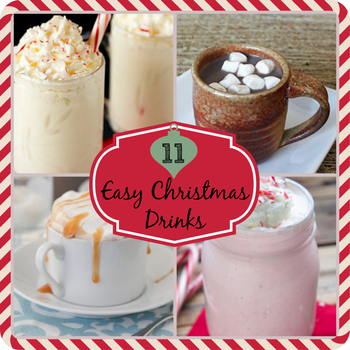 11 Easy Christmas Drinks | AllFreeCopycatRecipes.com