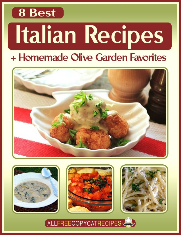 8 Best Italian Recipes eBook