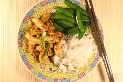 Healthy Mongolian Chicken Takeout Copycat
