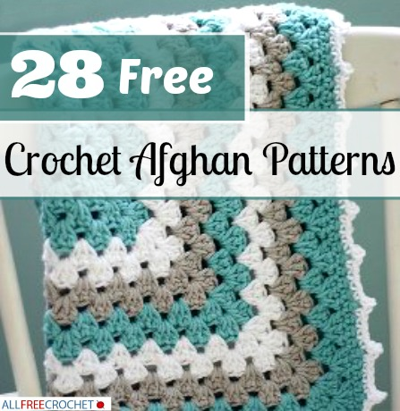 28 Free Crochet Afghan Patterns Allfreecrochet