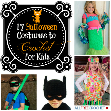 17 Halloween Costumes To Crochet For Kids Allfreecrochetcom