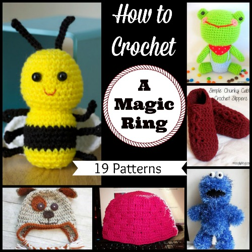 How to Crochet A Magic Ring: 19 Patterns