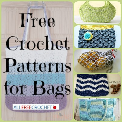31 Free Crochet Patterns for Bags + Free eBook ...