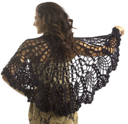 Pineapple Lace Shawl