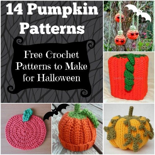 Free Crochet Patterns For Halloween : 14 Pumpkin Patterns: Free Crochet Patterns to Make for ...