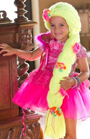 halloween costumes to crochet for kids rapunzel braid wig