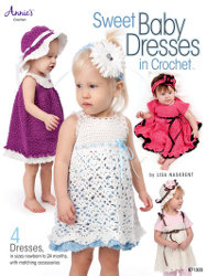 Sweet Baby Dresses in Crochet