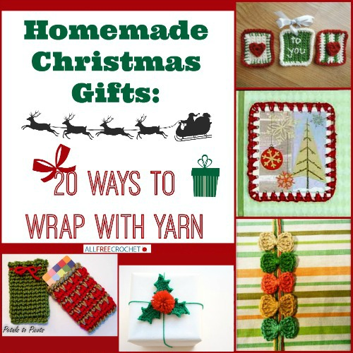 Homemade Christmas Gifts: 20 Ways to Wrap With Yarn