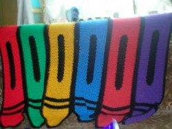 Crayon Blanket Allfreecrochet Com