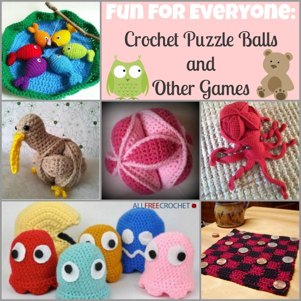 Amish Puzzle Ball Instructions.Crochet Children S Toys Allfreecrochet Com