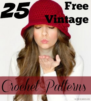 25 Free Vintage Crochet Patterns