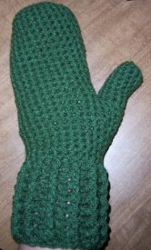 Easy Crochet Mittens Free Pattern