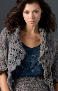 Granite Open Cardigan