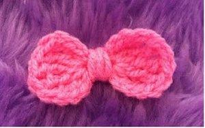 Lil Crochet Bow Allfreecrochet Com