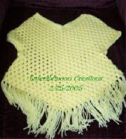 Free Crochet Pattern For Poncho Sweater : Poncho Sweater AllFreeCrochet.com