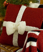 Presents Crochet Pillows