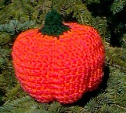 Stuffed Crochet Pumpkin