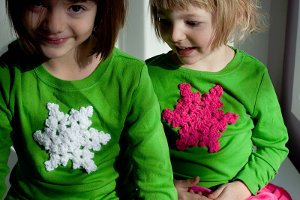 Sparkle Snowflake Applique