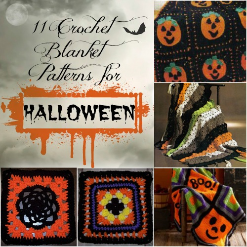 11 Crochet Blanket Patterns for Halloween