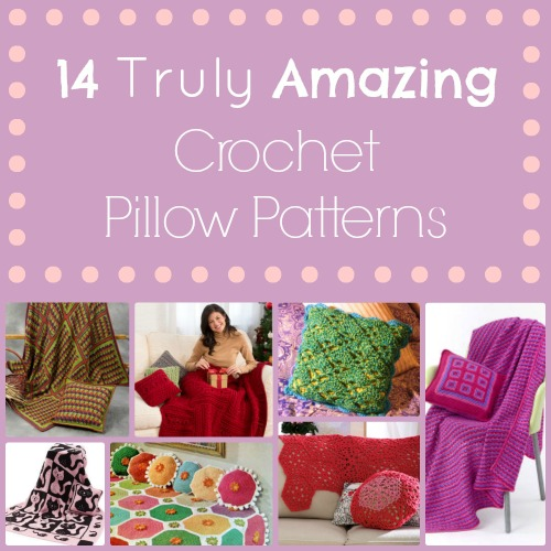 14 Truly Amazing Crochet Pillow Patterns ...