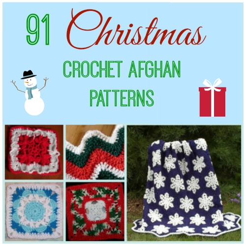 91 Christmas Crochet Afghan Patterns