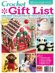 Crochet Gift List from Crochet Today!