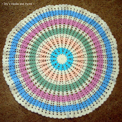 Crochet Baby Blanket Circular Pattern : The 100 Best Crochet Afghans Ever: Crochet Baby Blankets ...