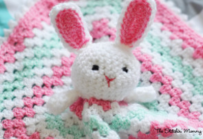 Little Bunny Lovey Blanket