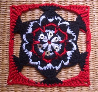 Native American Granny Square