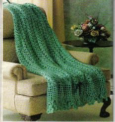 Irish Shamrocks Afghan