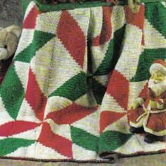 12 Christmas Crochet Afghan Patterns