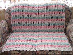 Baby's First Crocheted Blanket ...