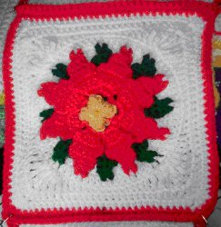 Bonnie's Poinsettia Square