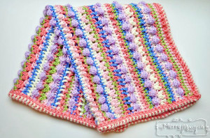 Candy Crush Baby Blanket AllFreeCrochetAfghanPatterns.com
