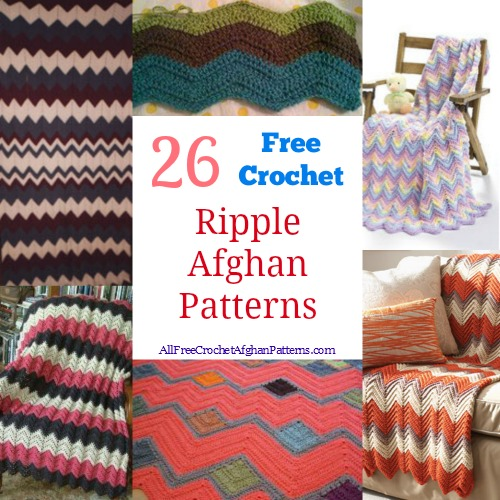 All Free Crochet Afghan Patterns : The Chevron Crochet Pattern: 19 Beautiful Chevron Afghans ...