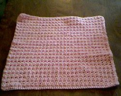 Free Crochet Patterns For Baby Pram Blankets : Thermal Stitch Preemie Afghan ...