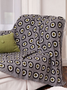 The Modern Hippie Daisy Throw