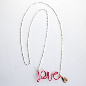 Love Letters DIY Necklace