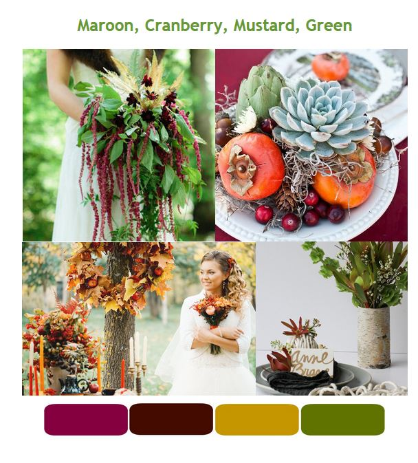 54 Fall Wedding Ideas: Fall Wedding Colors, Decor, Flowers, and ...