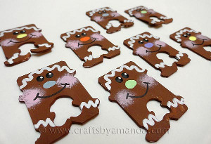 Gingerbread Bread Tie Men